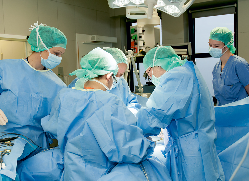 Entfernen op gebärmutter Gebärmutter entfernen